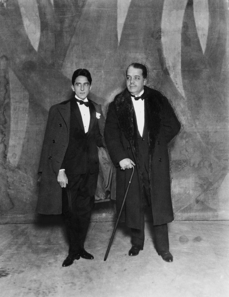 09 Jean Cocteau et Serge Diaghilev Photo Sasha copyright Getty Images Collection Hulton Archive HD