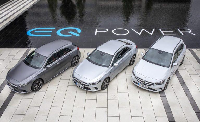 Modelos EQ Power de Mercedes-Benz