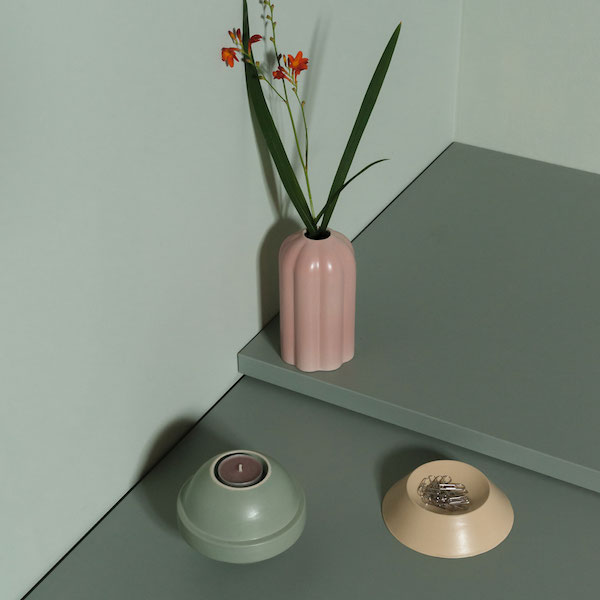 Monomio Forme vase tray and candleholder Accessory Mud is Mood