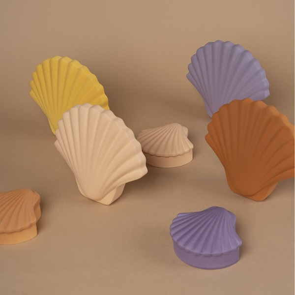 Monomio Shell Vase and Box Accessory Los Objetos Decorativos 1