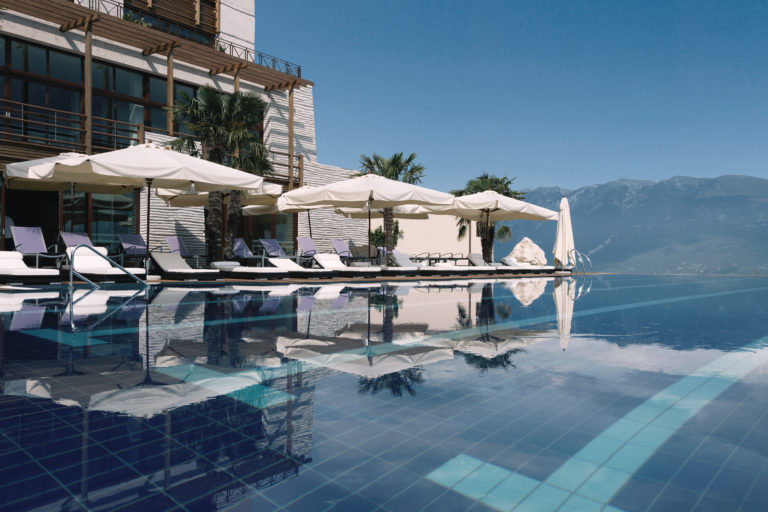 46 Infinity Pool and Building