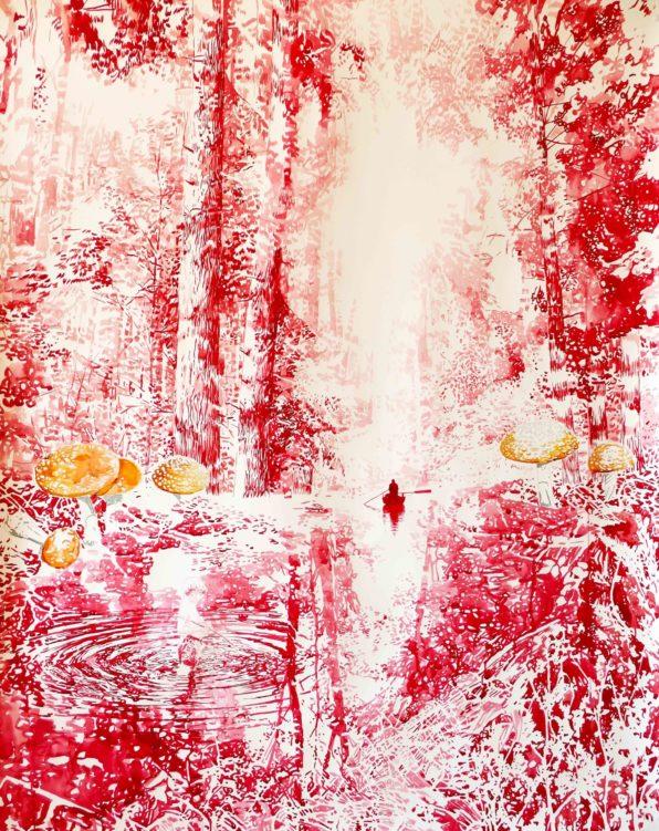 Barcelona Weekend Gallery: Black Forest de Malgosia Jankowska