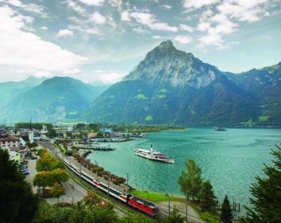 Gotthard Panorama Express Flüelen1 ©SBB CFF FFS e1625700953524