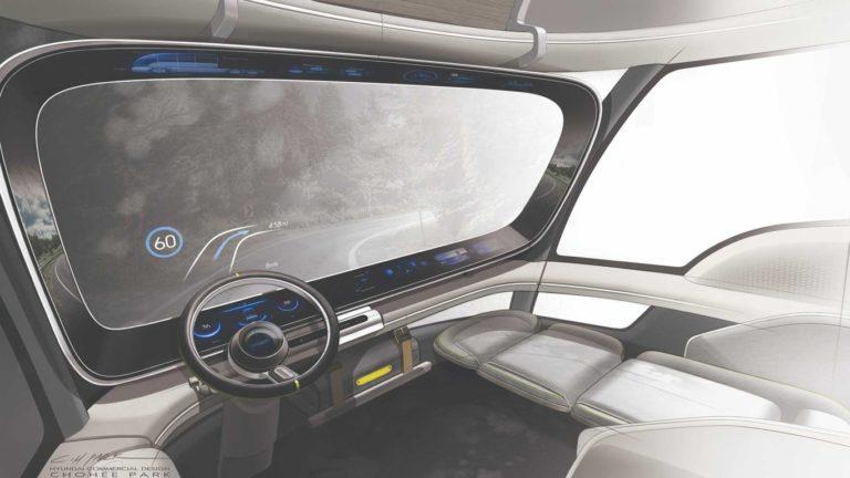 Hyundai HDC 6 interior