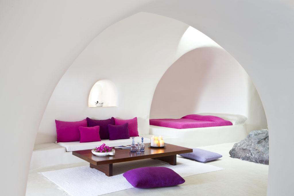 Interior Perivolas Suite Hotel Perivolas