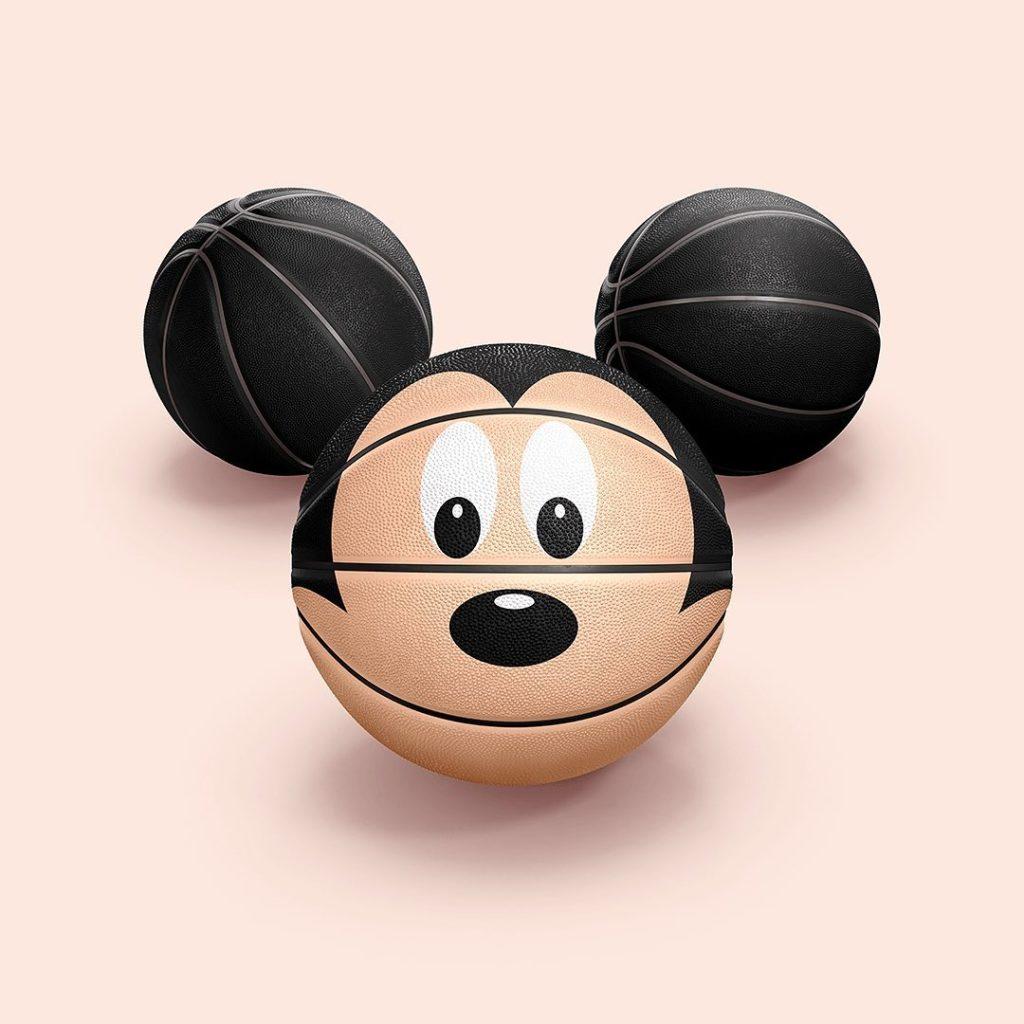 Mickey Basketball
