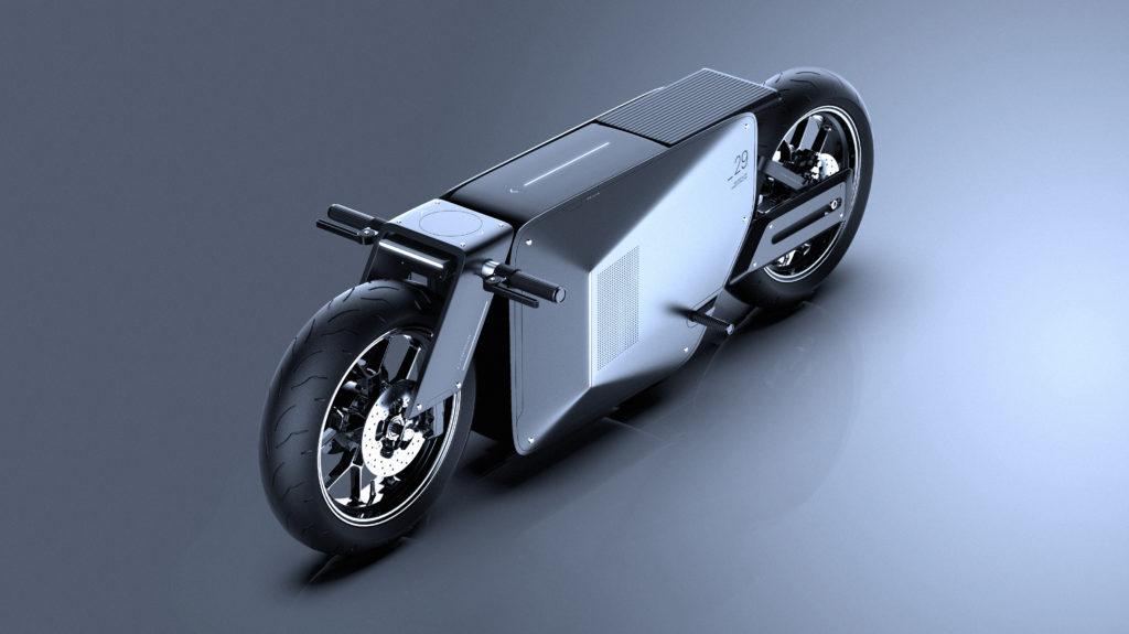 El nuevo concepto de motocicleta de Danilo Mario Saito