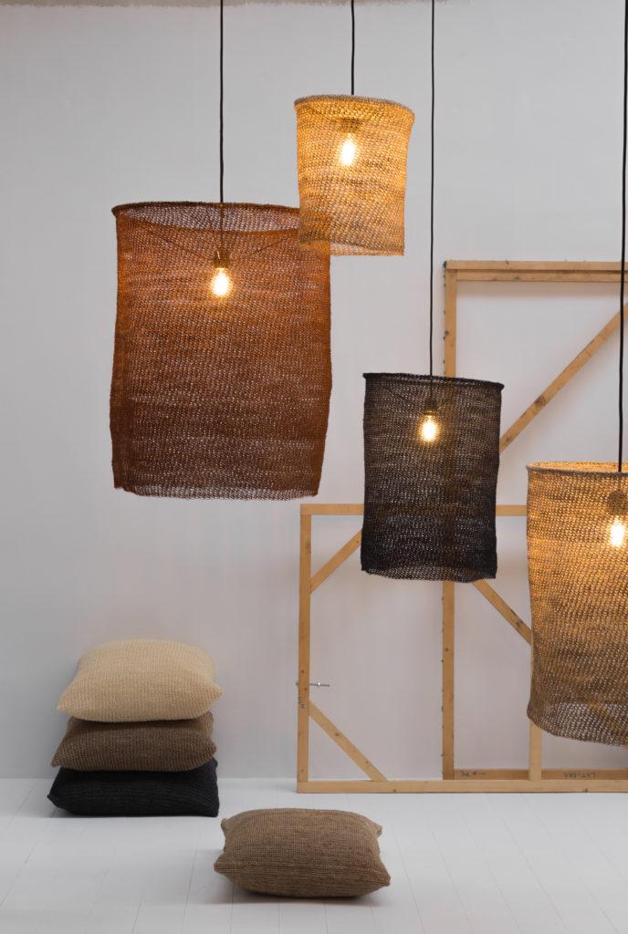 NUS lampshade cushions sisal letspause detail