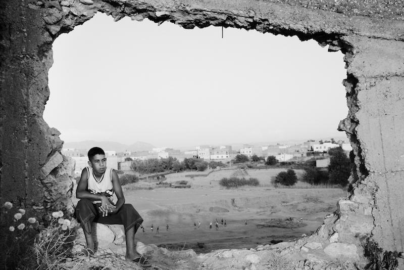 No Pasara by Leila Alaoui 2008. Courtesy Fondation Leila Alaoui GALLERIA CONTINUA 1 1