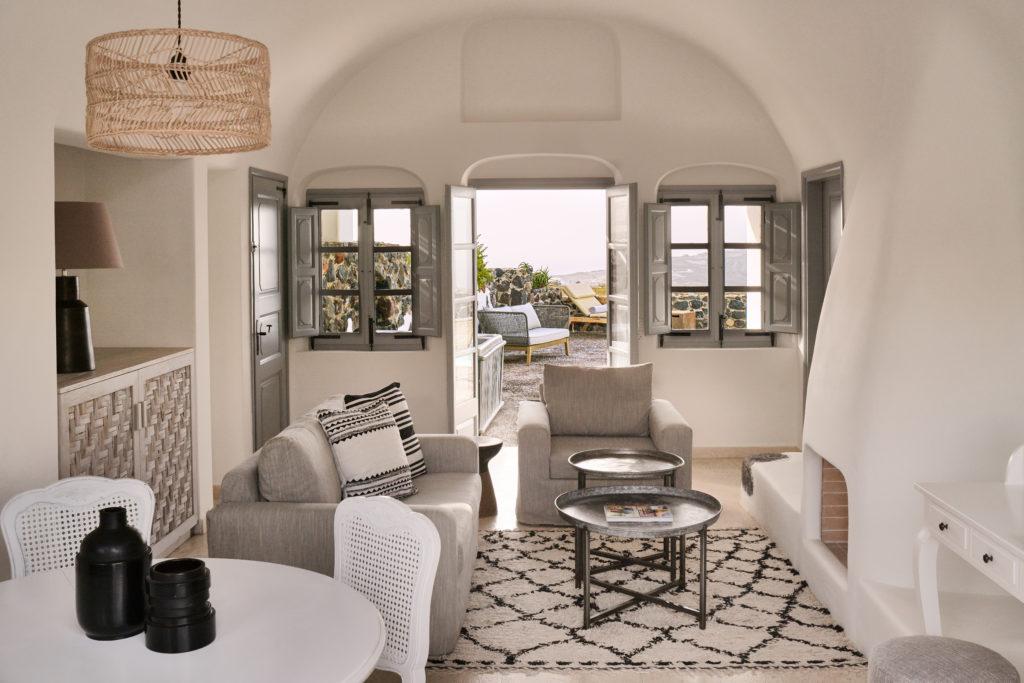 Olympian Villa Living Room