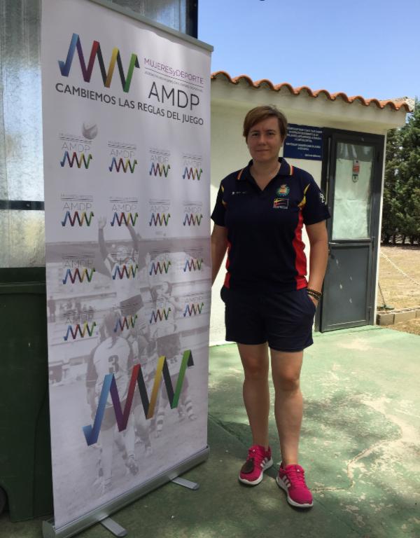 Pilar Calvo, Secretaria General de la Asociación para Mujeres en el Deporte Profesional