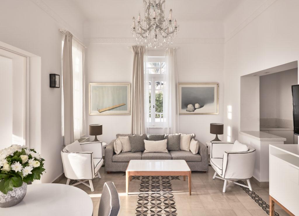 Presidential Villa Living Area