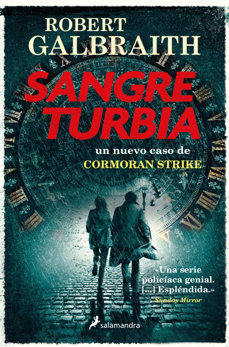 Sangre turbia, última novela de la saga del detective Cormoran Strike