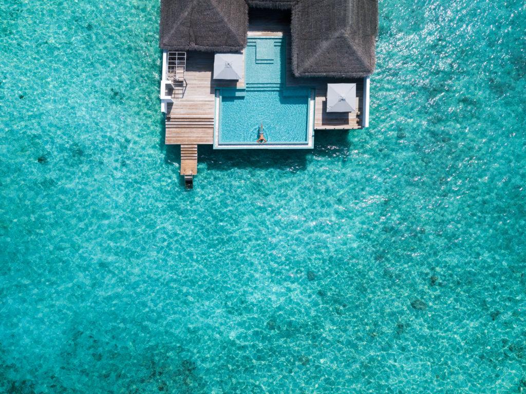 Seaside Finolhu Rockstar Villa vista aera © Seaside Finolhu