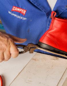 Proceso de creación del calzado