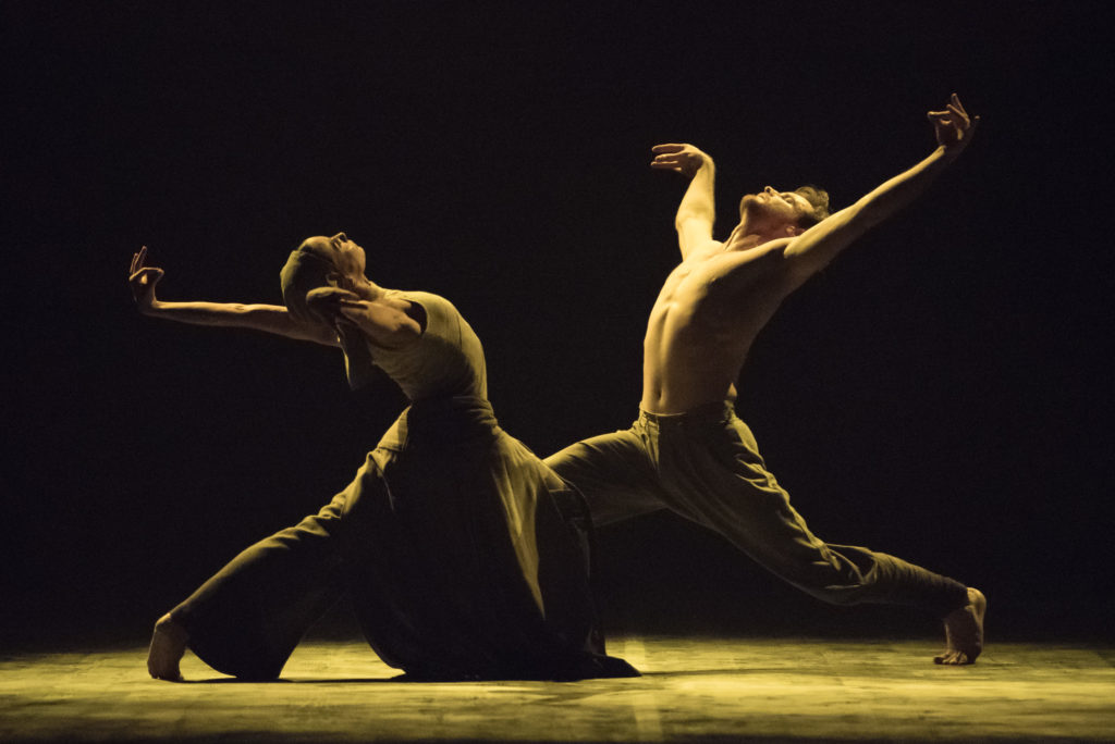 Tamara Rojo and James Streeter in Dust by Akram Khan © Photography by ASH