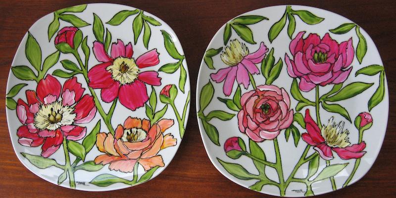 Vaisselle fleurs