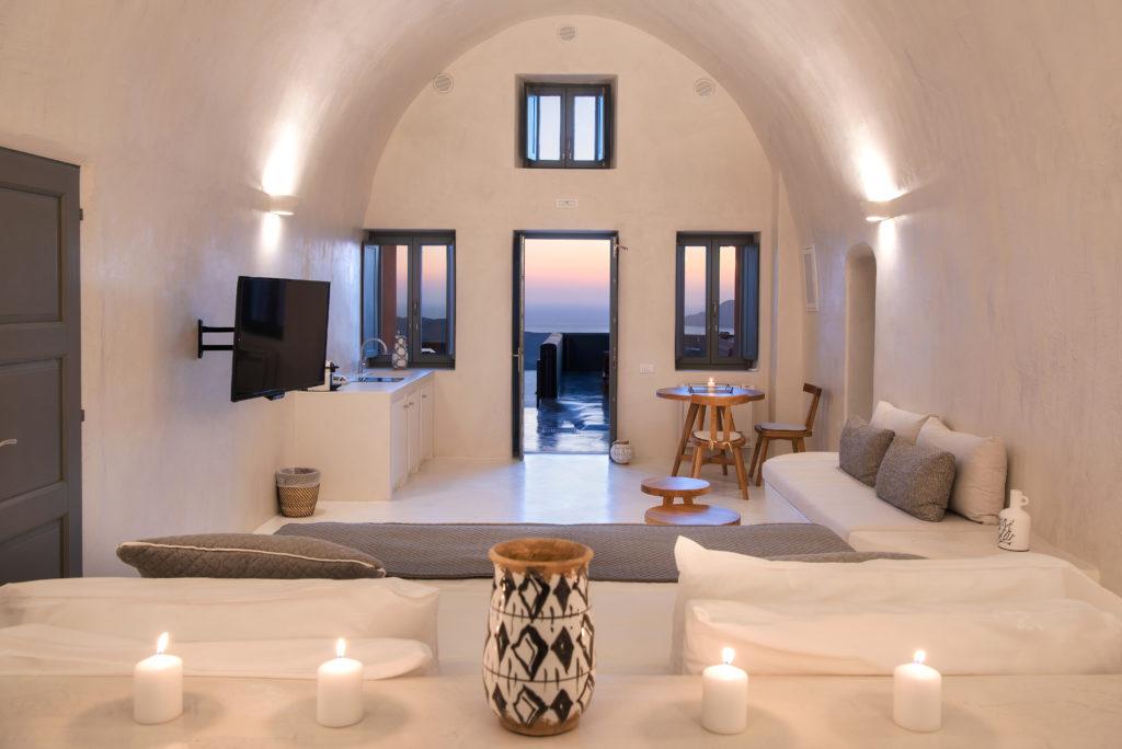 Villa Dusk Living Area