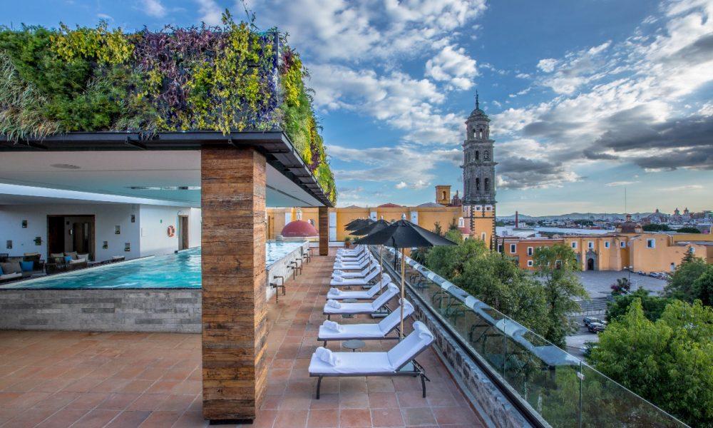 Azul Talavera Hotel Rooftop © Preferred Hotels & Resorts