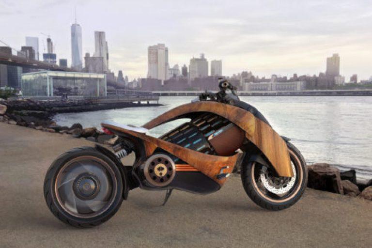 Motocicleta eléctrica Newron EV-1