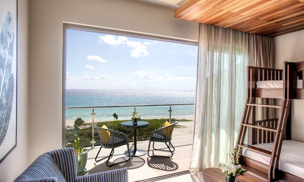 PalmaÏa- The House of Aïa_family living ocean room @ Preferred Hotels & Resorts