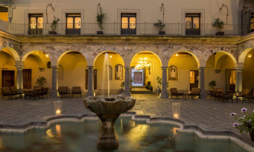 Quinta Real Puebla_Patio Novicias 2 © Quinta Real Puebla