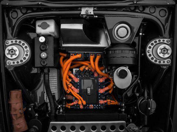 Sistema eléctrico del Totem Electric GT