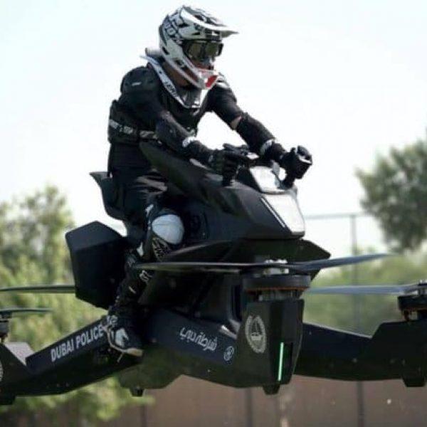 Hoverbike, el monoplaza aéreo de Hoversurf