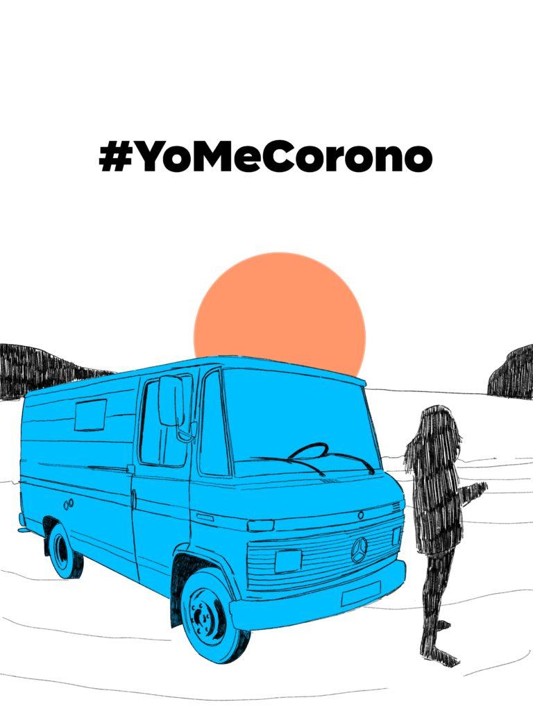 #YoMeCorono campaña conjunta con Mercedes
