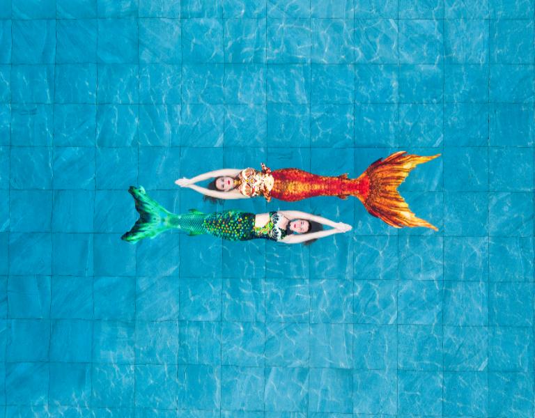 Sirenas. Photo: cortesía Naiads