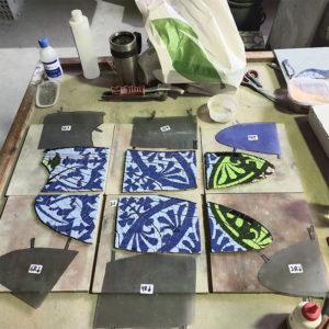 proceso de produccion la obra la libelula