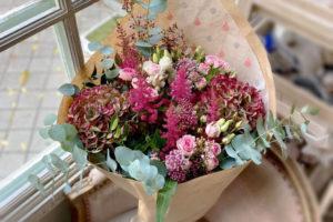 Ramo de flores. Cortesía Salón des Fleurs