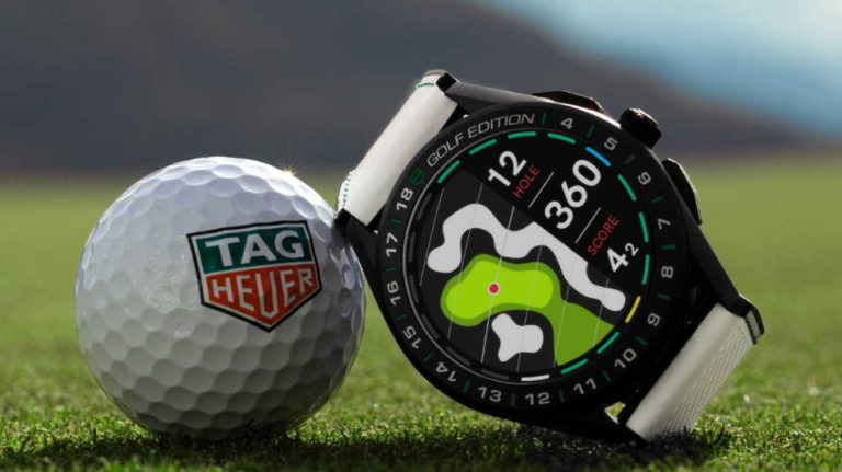 tag heuer connected golf edition sbg8a82 eb0206